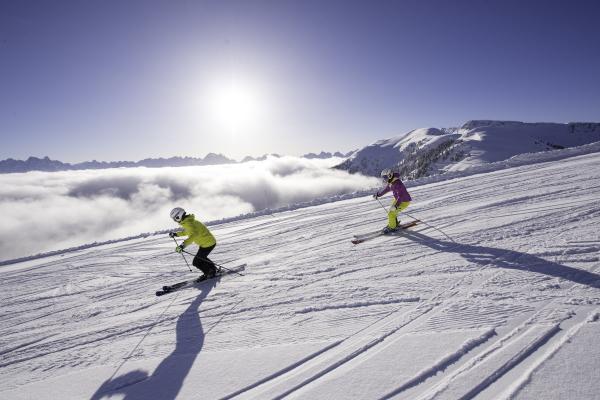 Sciare in piena libertà